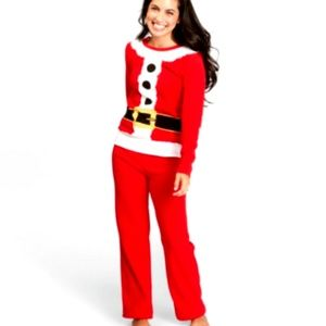 Wondershop Holiday Santa Pajama 2 Piece Set